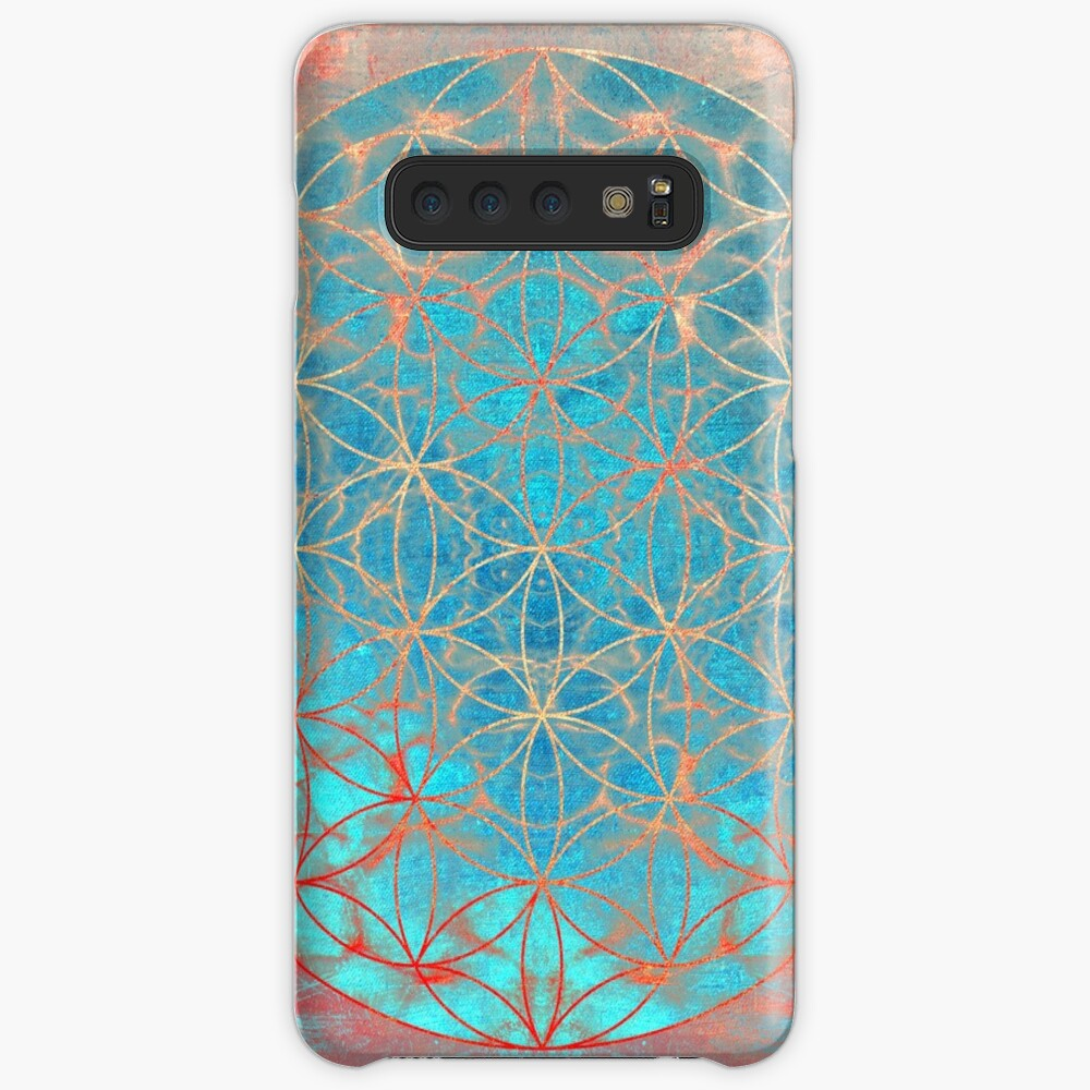 Flower of Life Cases & Skins for Samsung Galaxy