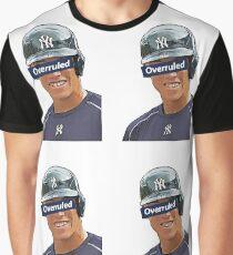 Aaron Judge - Overruled  Graphic T-Shirt