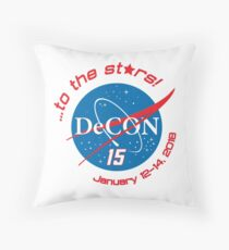 To the Stars... Throw Pillow