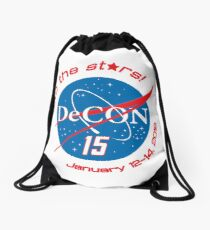 To the Stars... Drawstring Bag