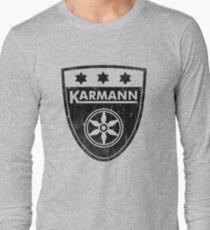 Karmann 3 Star Badge DISTRESSED BLK Volkswagen T-Shirt