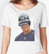 Aaron Judge - Overruled  Women's Relaxed Fit T-Shirt