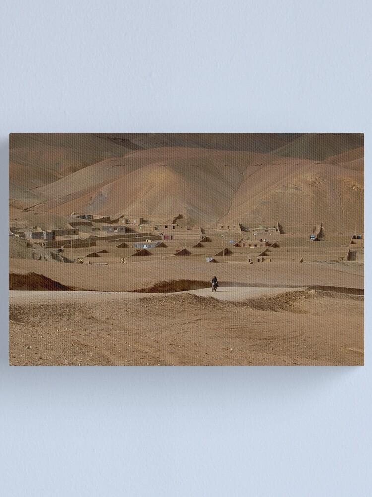 Alternate view of Village Afghanistan Canvas Print
