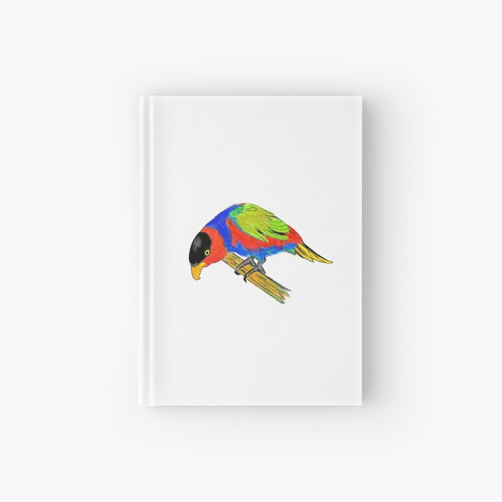 Black-capped Lory Hardcover Journal