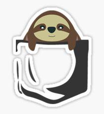 Sloth Pocket Sticker