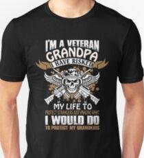 I m A Veteran Grandpa T Shirt Unisex T-Shirt 86f8869d6