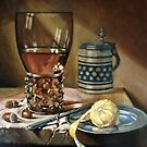 study still-life after old masterpiece by Hidemi Tada