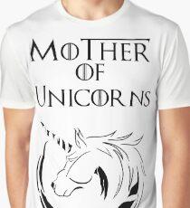 MK Mother of Unicorns Graphic T-Shirt