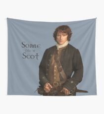 Some like it Scot Wall Tapestry