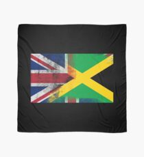 British Jamaican Half Jamaica Half UK Flag Scarf
