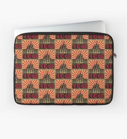 Vintage The Red House Laptop Sleeve