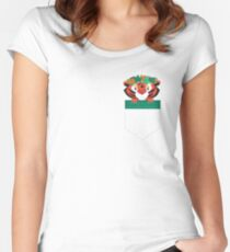Princess Pocket Pal: Tiger Edition Women's Fitted Scoop T-Shirt