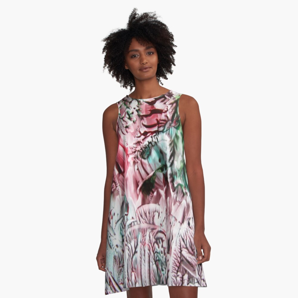 Hanging Gardens A-Line Dress Front