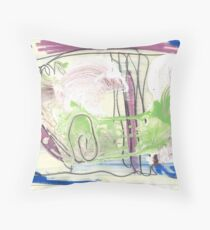 painting 172 Throw Pillow