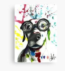 Not Your Typical Pooch Canvas Print