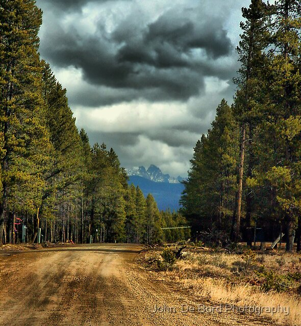 Country Roads by John  De Bord Photography
