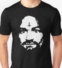 Charles Manson - Cross - Shirt Unisex T-Shirt