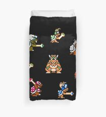 Bowser and Koopalings Duvet Cover