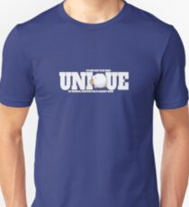 Be yourself and unique, motivation quote T-Shirt