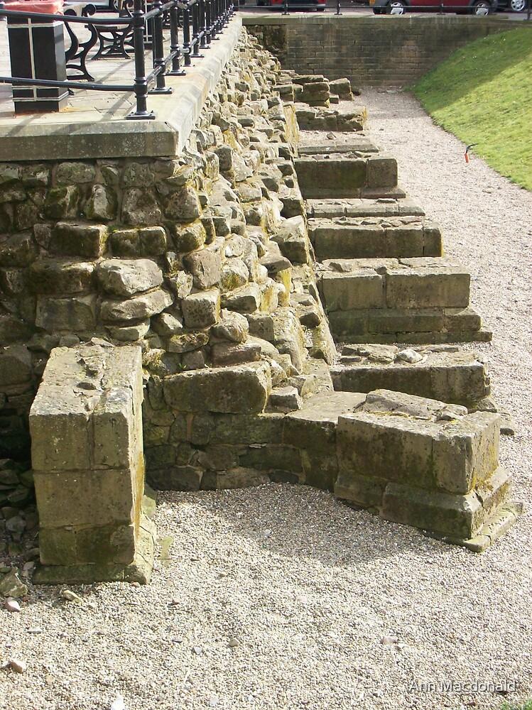 Original roman ruins by Ann Macdonald
