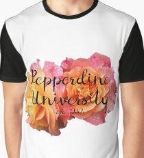 Pepperdine University Rose Malibu Graphic T-Shirt