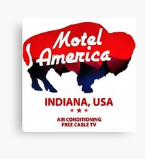 motel america Canvas Print