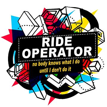 RIDE OPERATOR - NO BODY KNOWS by sohpielo