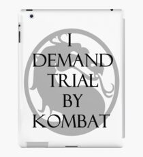 Trial by Kombat iPad Case/Skin