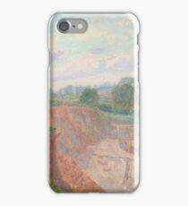 Spencer Frederick Gore () The Earthworks (or The Sandpit) iPhone Case/Skin
