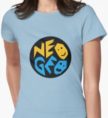 Neo Geo Womens Fitted T-Shirt