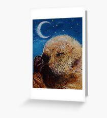 Sea Otter Pup Greeting Card