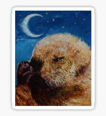 Sea Otter Pup Sticker
