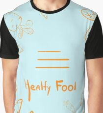 Healthy Food Graphic T-Shirt