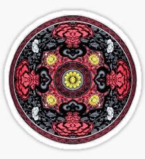 Kung Fu Kenny Mandala Sticker