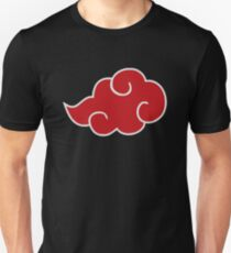 Red akatsuki cloud Unisex T-Shirt