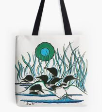 A Family of Loons Tote Bag