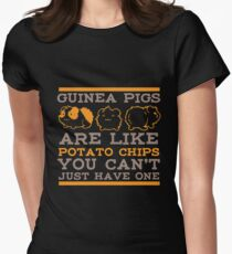 You Cant Just Have One Guinea Pig Shirt Women's Fitted T-Shirt
