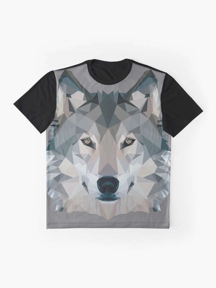 Alternate view of Wolf Graphic T-Shirt