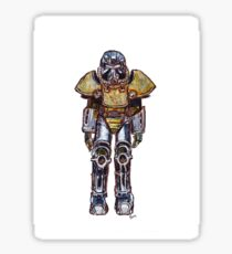 T-51 Power Armour Sticker