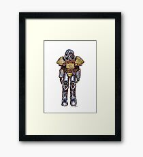 T-51 Power Armour Framed Print