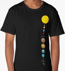 Solar System Long T-Shirt
