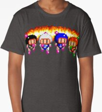 Bomberman x 4 Long T-Shirt