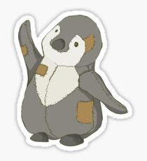 Waving Penguin Sticker