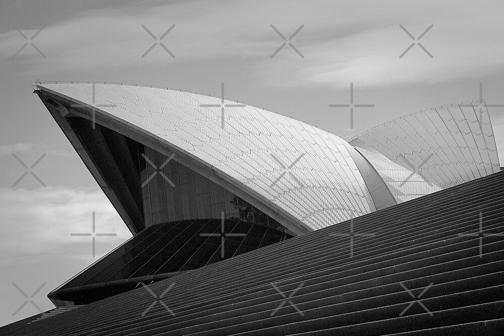 Sydney Opera House by Adrianne Yzerman