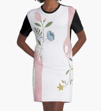 Hands Of Nature Graphic T-Shirt Dress