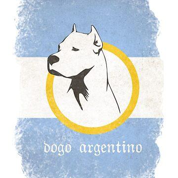 Dogo Argentino by Dujashin