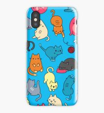 CATS GALORE! CUTE KITTEN COLLAGE iPhone Case/Skin