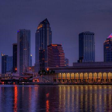 Tampa Skyline by fotokmcc