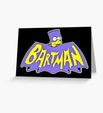 bartman Greeting Card