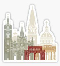 Guadalajara skyline poster Sticker